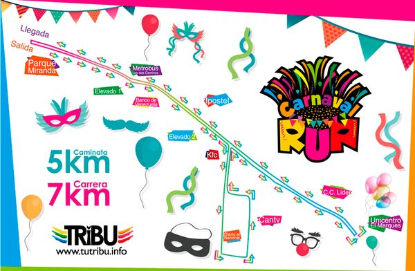MSC Noticias - Ruta-carnaval-run Agencias Com y Pub Maratones