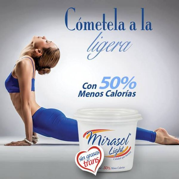 MSC Noticias - margarina-Mirasol-Light Alimentos Comstat Rowland