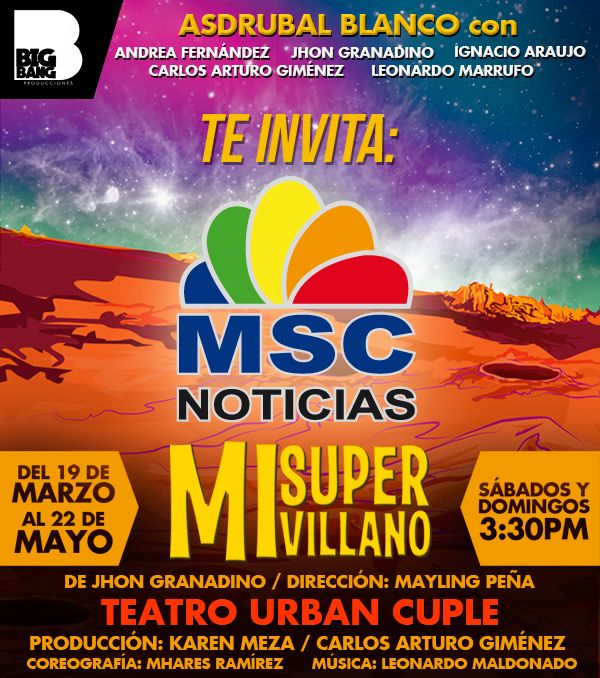 MSC Noticias - te-invita-msc Alamo Group Teatro