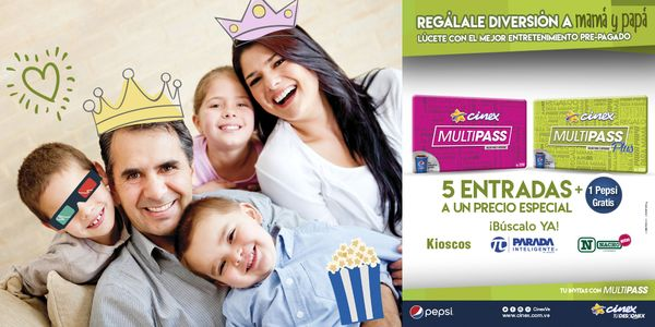 MSC Noticias - cinex-multipass_mad_pad-tituloweb Cine Cinex Com