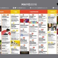 Programación del CCCH-Centro Cultural Chacao hasta el 15 de mayo