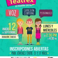 Nuevo Taller de Teatro para Adolescentes en Teatrex