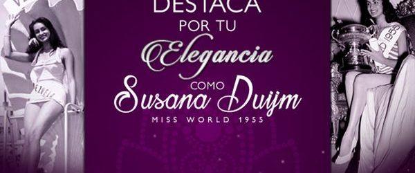 En la noche del Miss Venezuela se elegirá a Miss Elegancia en homenaje a Susana Duijm