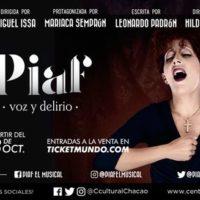Mariaca Semprún da Vida a Edith Piaf en El Centro Cultural Chacao
