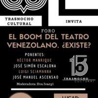 La realidad del Teatro Venezolano se Discutirá en el Trasnocho Cultural