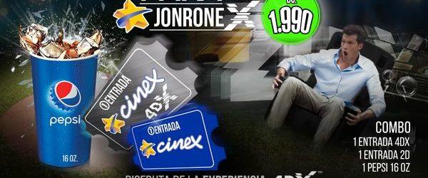 """Cinex recibe la temporada de Béisbol con su Combo """"Jonronex"""""""