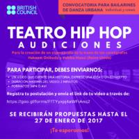 El British Council abre audiciones de teatro Hip Hop