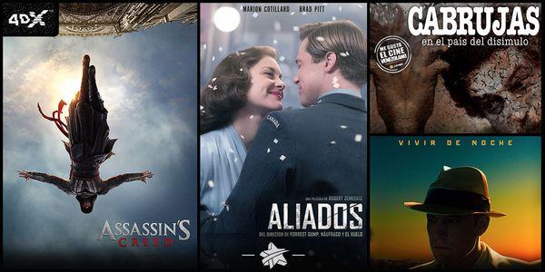 MSC Noticias - CINEX-ESTRENOS-Assassins-Creed Cine Cinex Com