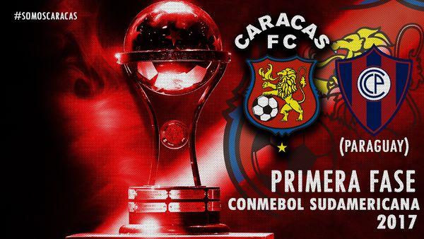 MSC Noticias - Caracas-FC-Cerro-Porteño FC CCS Futbol Club Futbol