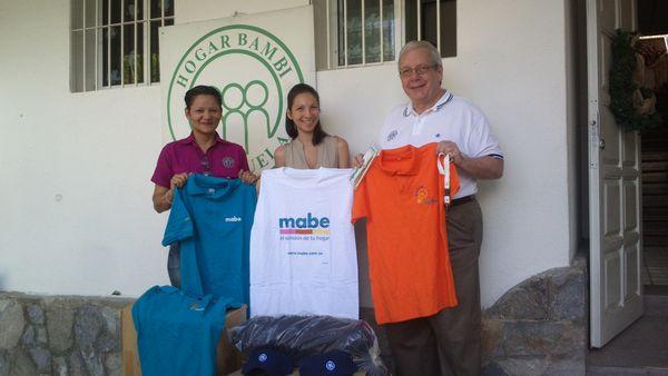 MSC Noticias - Entrega-Donativo-Mabe-Bambi Comstat Rowland RSE