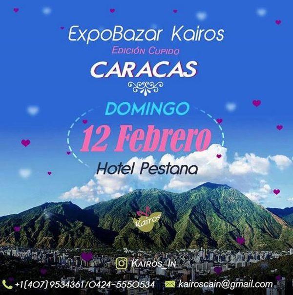 MSC Noticias - AFICHE-EXPO-BAZAR-KAIROS-EDICION-CUPIDO-12-DE-FEBRERO Agencias Com y Pub Moda