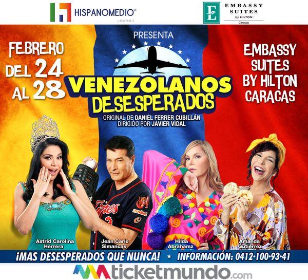 MSC Noticias - ES-Venezolanos-Desesperados Agencias Com y Pub Teatro