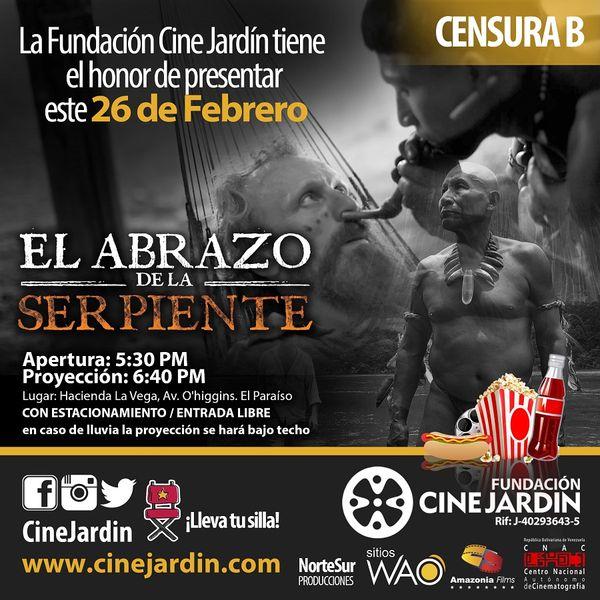 MSC Noticias - Instagram-EL-ABRAZO-DE-LA-SERPIENTE Cine CINE JARDIN