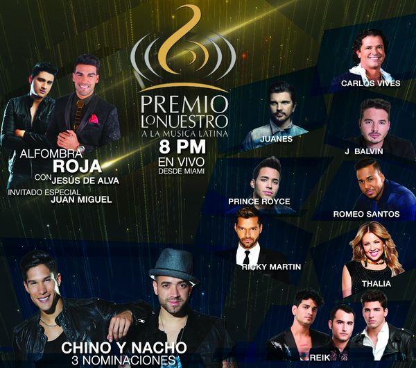 MSC Noticias - PREMIOS-LO-NUESTRO-2017-Imagen Musica Venevisión Com
