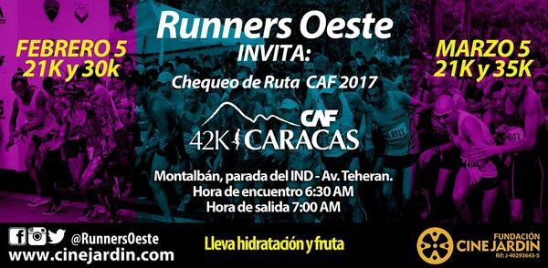 MSC Noticias - CHEQUEO-CAF Agencias Com y Pub Maratones