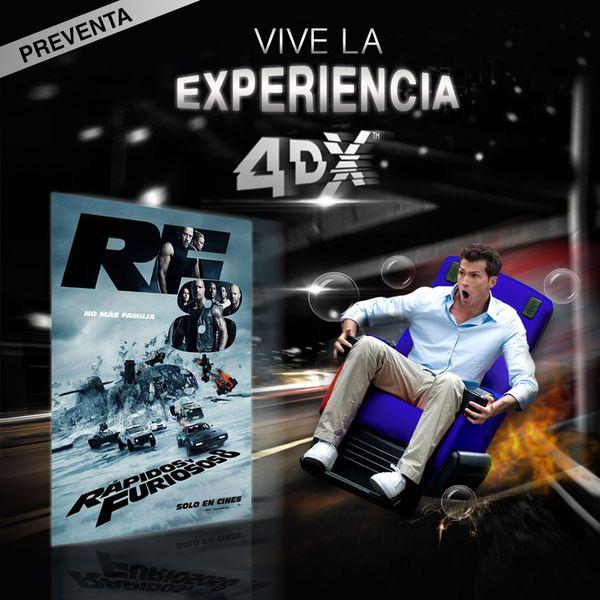 MSC Noticias - CINEX_rapidos_y_furiosos_FB_IG Cine Cinex Com