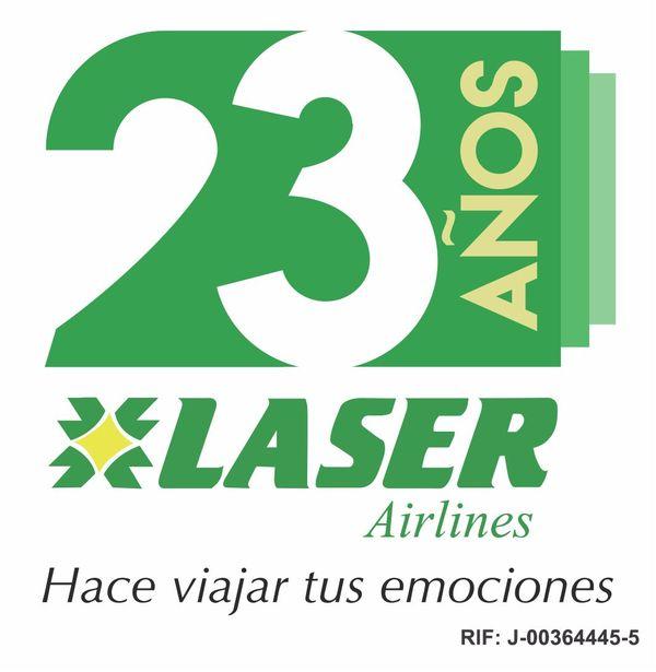 MSC Noticias - Logotema-23º-aniv-Laser-Airlines Agencias Com y Pub Viajes y Hotelería