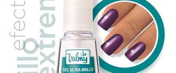 Efecto cristal en las uñas con el Gel Ultra Brillo de Valmy