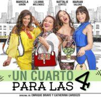 """Comedia dramática """"Un Cuarto para las Cuatro"""" se estrena el 28 de Abril"""
