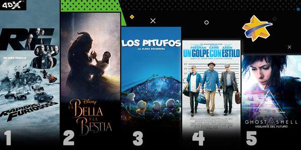 MSC Noticias - CINEX_TOP5_RÁPIDOSYFURIOSOS8 Cine Cinex Com