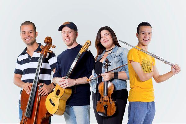 MSC Noticias - Ensamble-Quatreto-juntos Musica Sirius Com