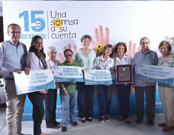 MSC Noticias - Excelsior-Gama-Premiación-Semestral-USASC-Fundaciones-beneficiadas Burson Marsteller RSE