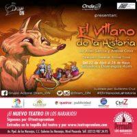 """""""El Villano de la Historia""""  llega al Teatro Premium Los Naranjos"""