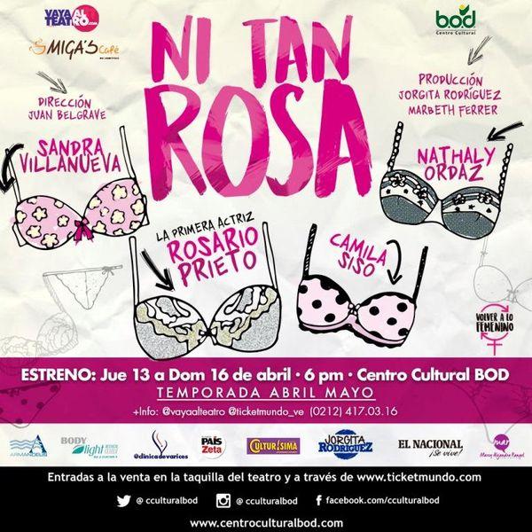 MSC Noticias - Ni-tan-rosa Teatro Vaya al Teatro Com
