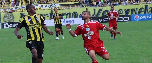 El Caracas FC cayó y finalizó su racha en Pueblo Nuevo