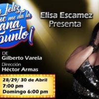 """Llega Elisa Escamez al Teatro Urban Cuplé con """"Soy feliz porque me da la gana… y punto"""""""