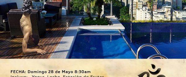 Disfruta de ¨Yoga en las Alturas¨ en el Hotel Pestana Caracas a partir de este 28 de mayo