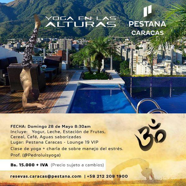 MSC Noticias - Yoga-en-las-Alturas-Pestana-Caracas Factum Com Turismo
