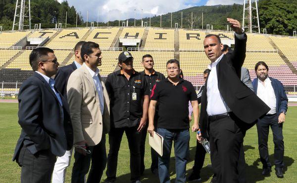 MSC Noticias - FVF_VISITA_DUDAMEL_PN_CA_150717_GPC_0564 FC DT Tachira Futbol