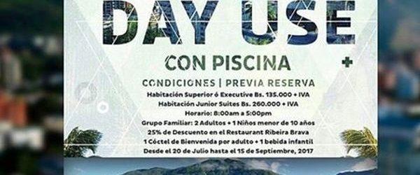 Escápate y disfruta de un día de relax en el Pestana Caracas con la promoción ¨DayUse¨
