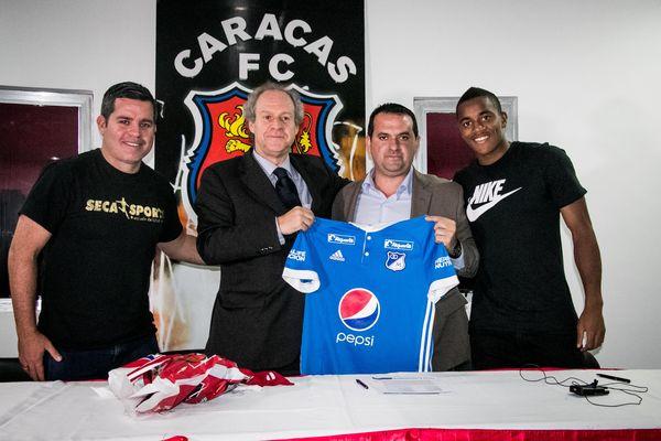 MSC Noticias - 2.Wuilker-Fariñez-y-Millonarios-II FC CCS Futbol Club Futbol