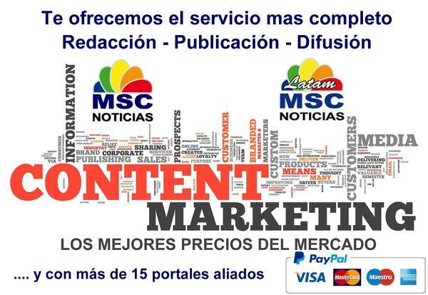 MSC Noticias - ContentMarketing