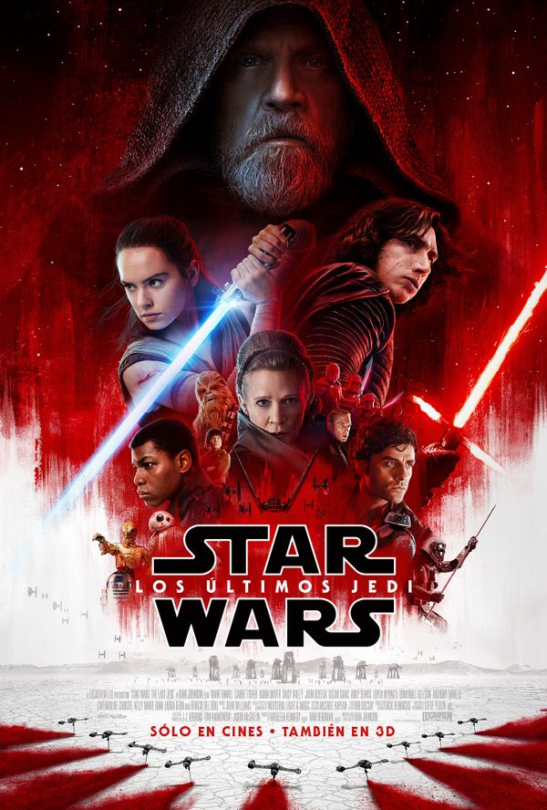 MSC Noticias - Payoff-Poster-Star-Wars-Los-Ultimos-Jedi-002 Cine Grupo Plus Com