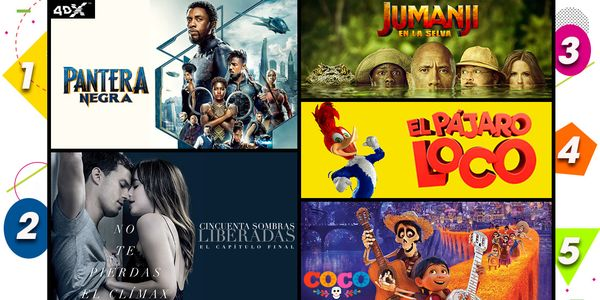 MSC Noticias - CINEX_TOP5_TITUTLOWEB_final Cine Cinex Com