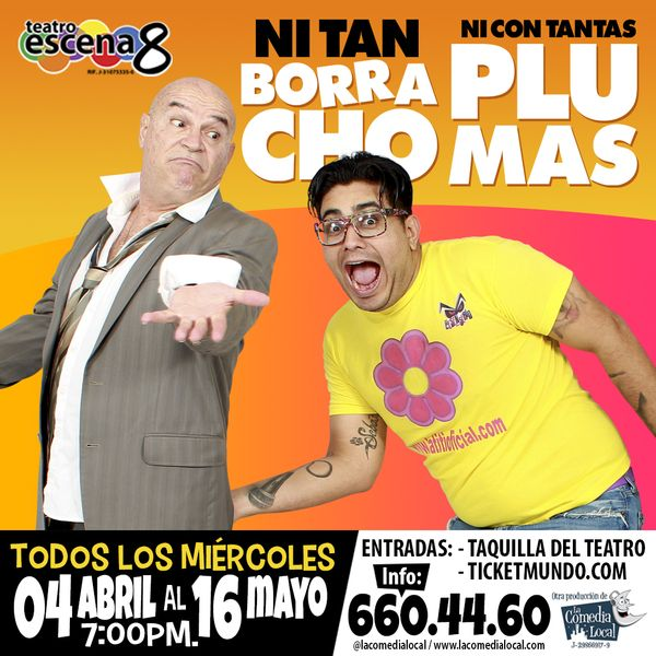 MSC Noticias - instagram-ni-tan-borracho-ni-con-tantas-plumas-abril2018 Agencias Com y Pub Teatro