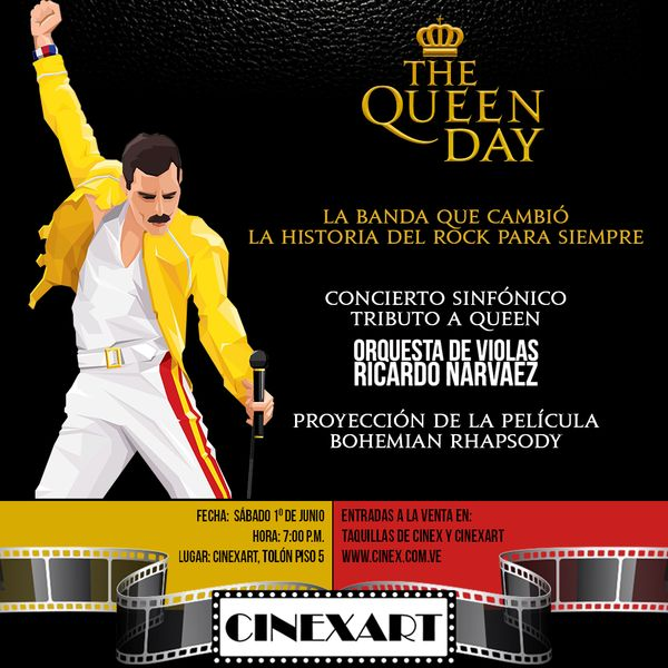 MSC Noticias - CINEXART_QUEEN_POST Cine Cinex Com
